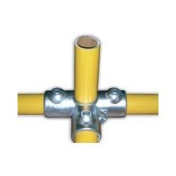 RAC T Ø 34mm | raccord 4 tubes assemblés à 90°