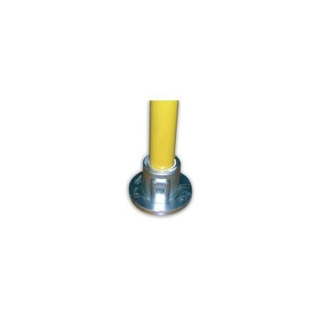 Plaque de base insert spéciale barrière Ø 34mm | Platine femelle renforcée
