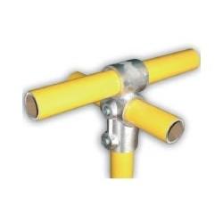 RC3 Ø 35mm | raccord 3 tubes formant une croix et un T