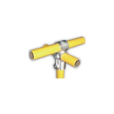 RC3 Ø 35mm   raccord 3 tubes formant une croix et un T