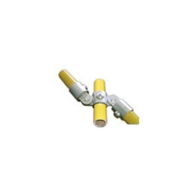 RC 7 VO 2 pattes à 180° +2VF Ø 35mm |  raccord 3 tubes articulés