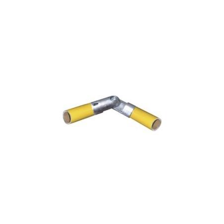 RAC angle mâle Ø 35mm | raccord 2 tubes formant un angle de 50 à 310°