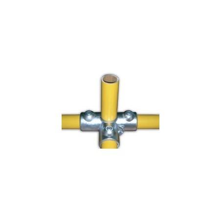 RAC T Ø 35mm | raccord 4 tubes assemblés à 90°