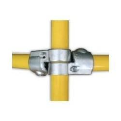 RAC angle variable Ø 35mm   raccord 3 tubes d'angle 90 à 350°