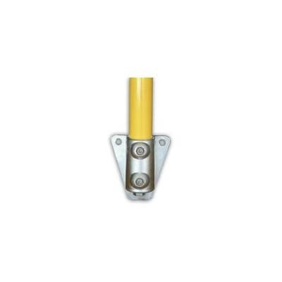 Plaque de base verticale Ø 35mm | Platine à fixer en applique