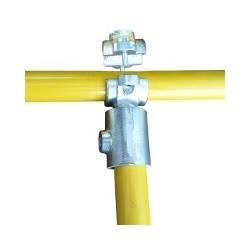 RC2 démontable Ø 40mm |  raccord 2 tubes formant un T
