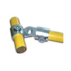 RC 7 VO + VF Ø 40mm | raccord 2 tubes articulés(voie ouverte et fermée)
