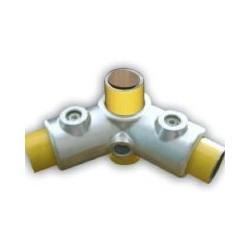 RAC 120° Ø 40mm | raccord 3 tubes assemblés à 90° et 120°