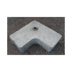Plot béton Ø 40mm | 23kg de lestage