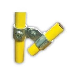 RC 7 2VO Ø 42mm | raccord 2 tubes articulés