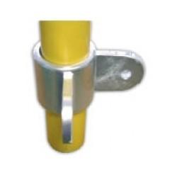 RC 7 VO 2 pattes à 90° Ø 49mm |  raccord permettant la fixation d'un panneau