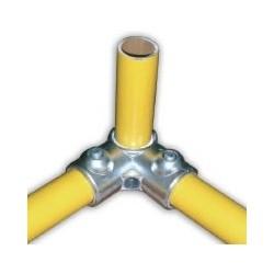 RAC 90° Ø 49mm | raccord 3 tubes assemblés à 90°