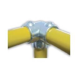 RAC 3 axes Ø 49mm | raccord 3 tubes assemblés à 90°