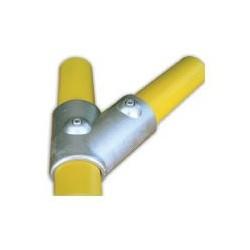 RAC 45° Ø 49mm | raccord 2 tubes assemblés à 45°