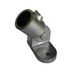 Platine articulée Ø 50mm | Fixation de 0 à 180°