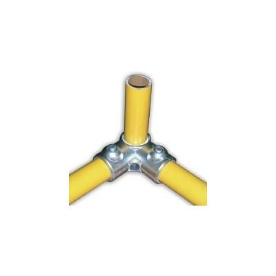 RAC 90° Ø 27mm | raccord 3 tubes assemblés à 90°