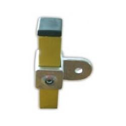 RC 7 VO carré 25x25mm |  raccord permettant la fixation d'un panneau