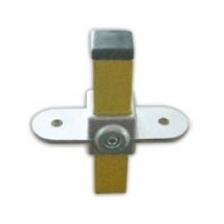 RC 7 S 2 pattes carré 25x25mm | Fixe 2 plateaux a votre structure