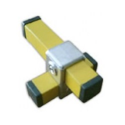 RC1 carré 40x40mm |  raccord 2 tubes formant une croix