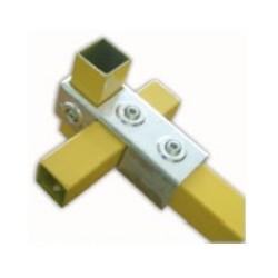 RC3 carré 40x40mm | raccord 3 tubes formant une croix et un T