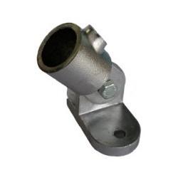 Platine articulée Ø 27mm | Fixation de 0 à 180°