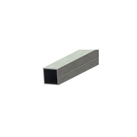 Tube aluminium 6060 3m carré 40x40mm épaisseur 2mm