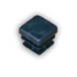 Bouchon plastique pour tube carré de 25x25mm