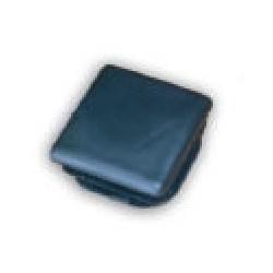 Bouchon plastique pour tube carré de 40x40mm